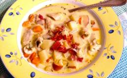 Lake Trout Chowder